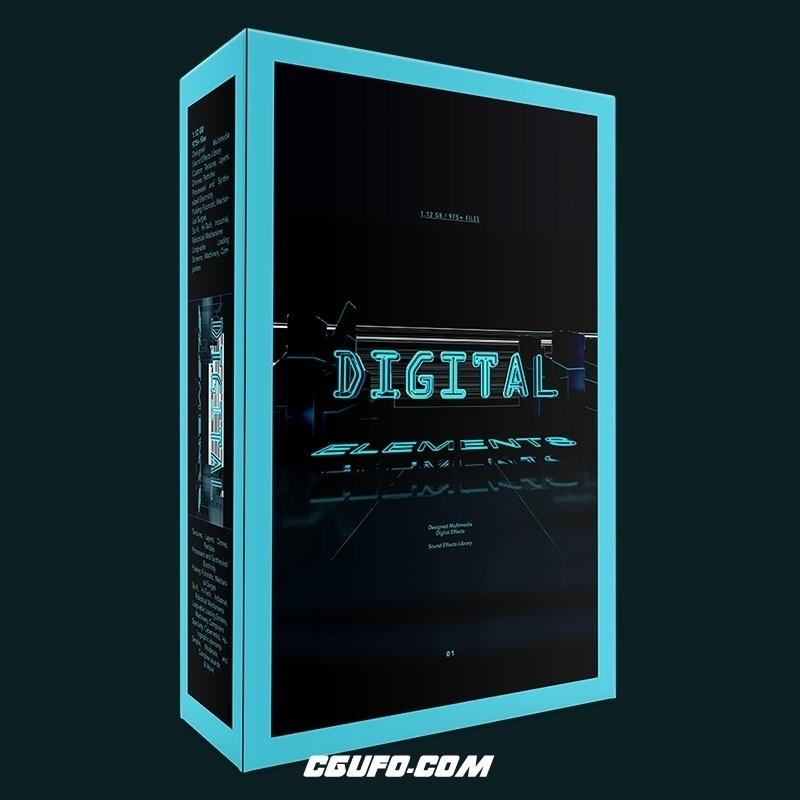 高科技数码电子/电流/未来科幻/机器工业/机器人智能/无损音效
