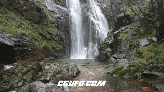 3511山涧瀑布高清实拍视频素材