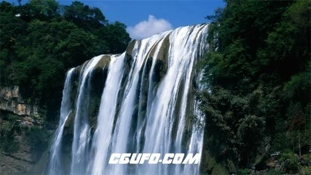 3512大气磅礴瀑布高清实拍视频素材