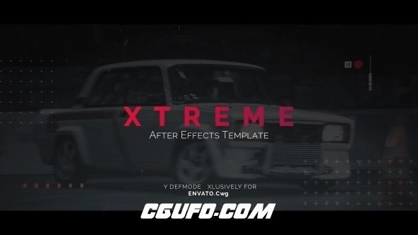 7698时尚大气图片开场动画AE模版,Xtreme Opener