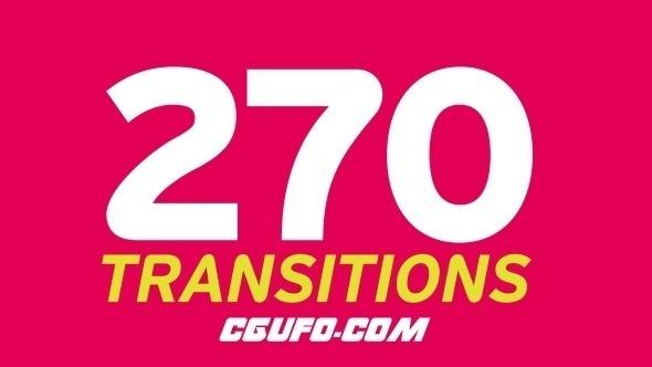 7715创意转场过渡动画高清视频素材,Transitions