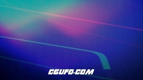 7729炫光转场过渡特效动画高清视频素材,RGB Damage Transitions