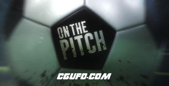 7762足球类体育类风格动画AE模版,On The Pitch