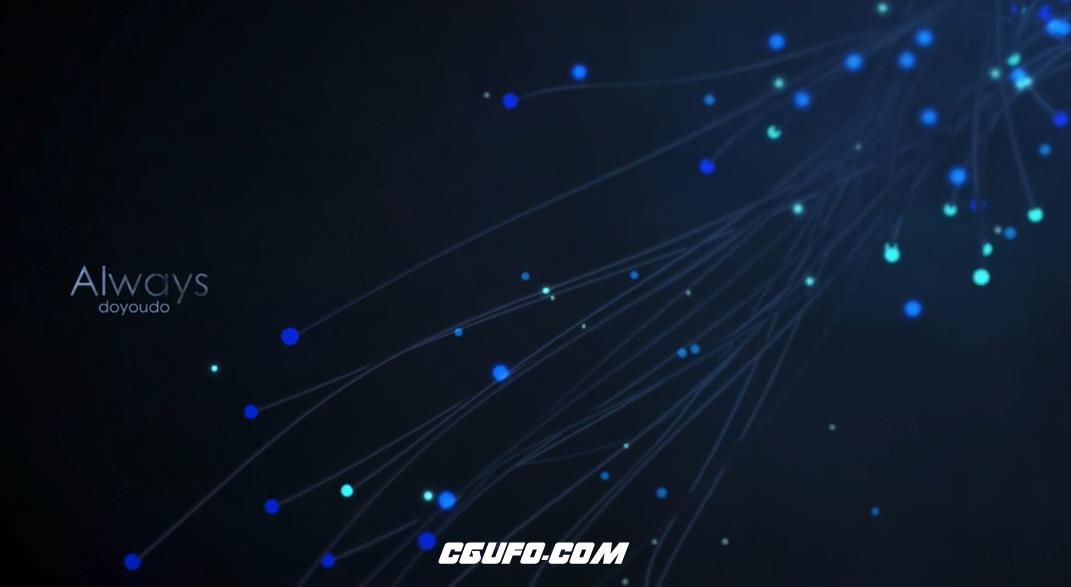 CINEMA 4D粒子制作超美流线海报中文视频教程【doyoudo录制】