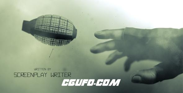 7900军事战斗模拟动画演示宣传视频AE模版,Conflict – Opening Titles