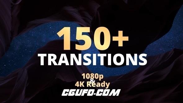 7908图片视频转场特效过渡动画AE模版,New Transitions