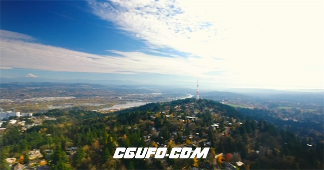 3670-4K城市大全景高清实拍视频素材