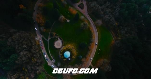 3673-4K航拍城市交通公路高清实拍视频素材