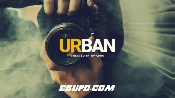 8030城市宣传片视频包装动画AE模版,Urban Intro