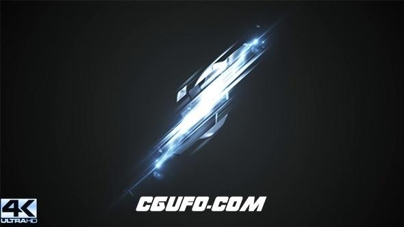 8041能量logo演绎动画AE模版,Power Strike Logo
