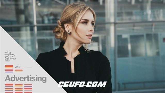 8052大气企业宣传片视频包装AE模版,Geneva: 100+ Stylish Corporate Elements