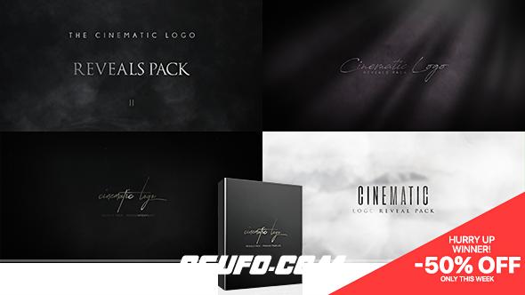 8104电影特效logo演绎动画AE模版,Cinematic Logo Reveals Pack