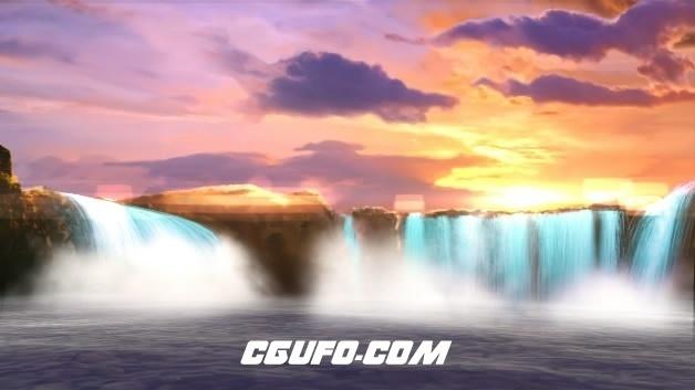 3756-唯美大自然美景LED背景高清视频素材