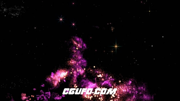 3766能量粒子特效动画高清视频素材