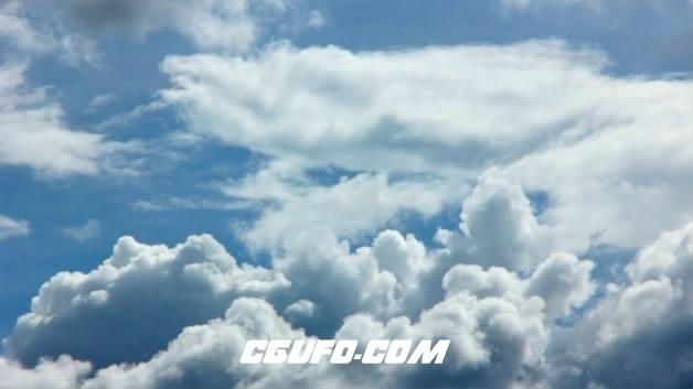 3796唯美蓝天白云高清实拍视频素材