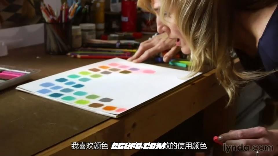第137期中文字幕翻译教程《色彩应用基础视频教程》