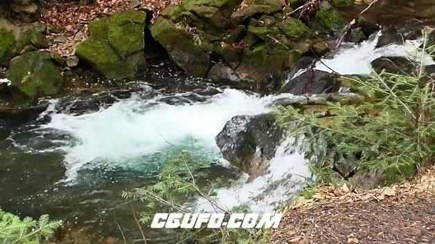 3860溪水流淌高清实拍视频素材