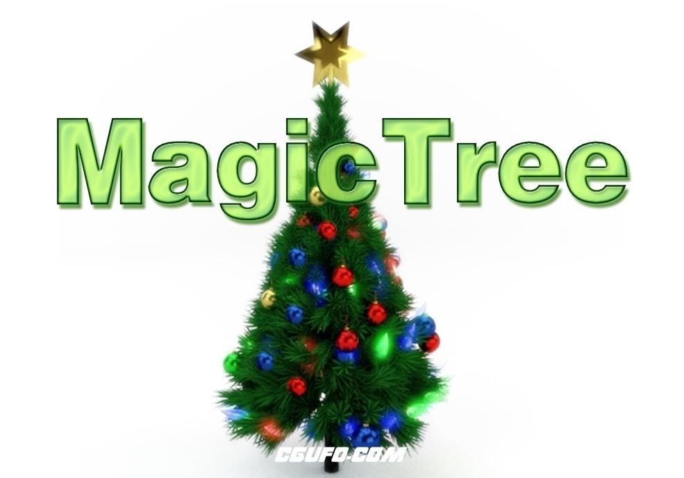 C4D魔法圣诞树生成插件 MagicTree