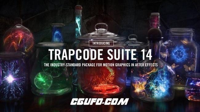 红巨星粒子特效套装插件包Red Giant Trapcode Suite 14.0.4 Win64/Mac 支持AE与PR CC2018插件